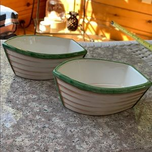Set of Two Nautical Bowls